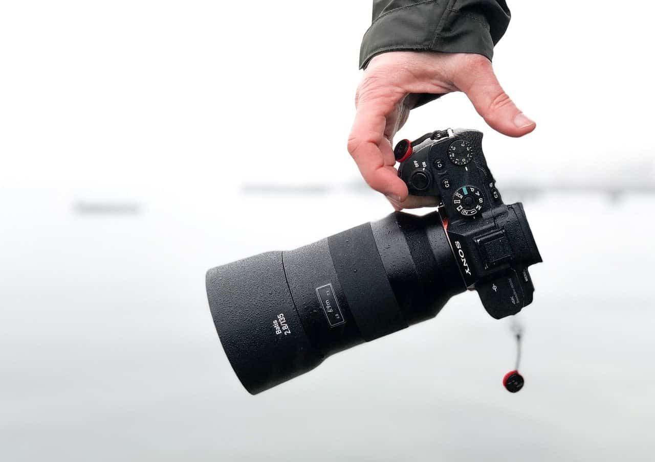 attrezzatura tik tok fotocamera